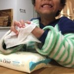 Baby Dove Wipes Review by Mama Is Me