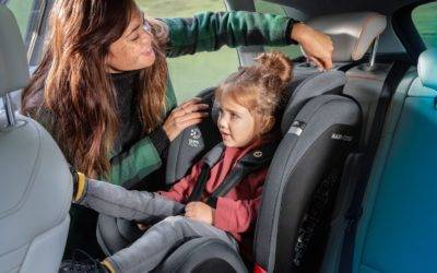 Safely strapping your child into a car seat could save their lives
